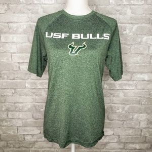 Champion USF Bulls College Breathable Sports Tee S
